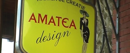 Spot publicitar pentru Amatea Design Bistrita
