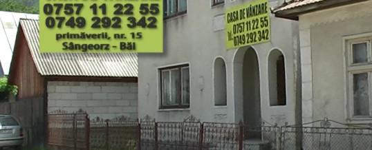 Spot publicitar – casa de vanzare – Sangeorz Bai